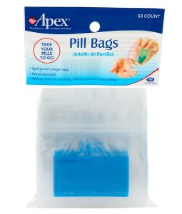 APEX, PILL BAGS, 50 COUNT