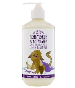 EVERYDAY SHEA, CONDITIONER & DETANGLER, GENTLE FOR BABIES AND UP, LEMON LAVENDER, 16 FL OZ / 475ml