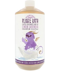 EVERYDAY SHEA, BUBBLE BATH, BABIES & KIDS, LEMON LAVENDER, 32 FL OZ / 950ml