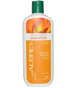 AUBREY ORGANICS, HONEYSUCKLE ROSE SHAMPOO, MOISTURE INTENSIVE, DRY, 11 FL OZ / 325ml