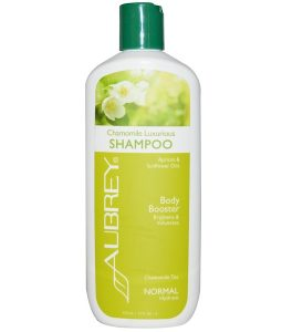 AUBREY ORGANICS, CHAMOMILE LUXURIOUS SHAMPOO, BODY BOOSTER, NORMAL, 11 FL OZ / 325ml