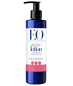 EO PRODUCTS, BODY LOTION, ROSE & CHAMOMILE, 8 FL OZ / 236ml