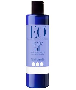 EO PRODUCTS, BODY OIL, FRENCH LAVENDER, 8 FL OZ / 236ml