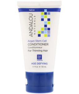 ANDALOU NATURALS, CONDITIONER, AGE DEFYING, FOR THINNING HAIR, ARGAN STEM CELL, 1.7 FL OZ / 50ml