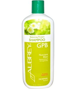 AUBREY ORGANICS, GPB BALANCING PROTEIN SHAMPOO, ROSEMARY PEPPERMINT, NORMAL, 11 FL OZ / 325ml