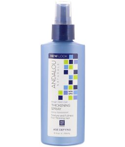 ANDALOU NATURALS, ARGAN STEM CELL THICKENING SPRAY, AGE DEFYING, 6 FL OZ / 178ml