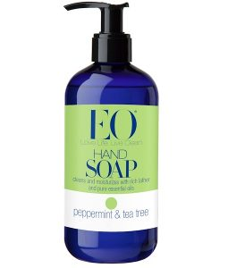 EO PRODUCTS, HAND SOAP, PEPPERMINT & TEA TREE, 12 FL OZ / 355ml