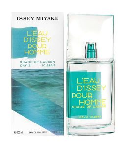 ISSEY MIYAKE L'EAU D'ISSEY POUR HOMME SHADE OF LAGOON DAY 2 10.28AM EDT FOR MEN