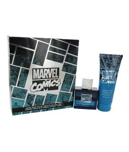MARVEL COMICS SUPER HERO EDT 2 PC GIFT SET FOR MEN