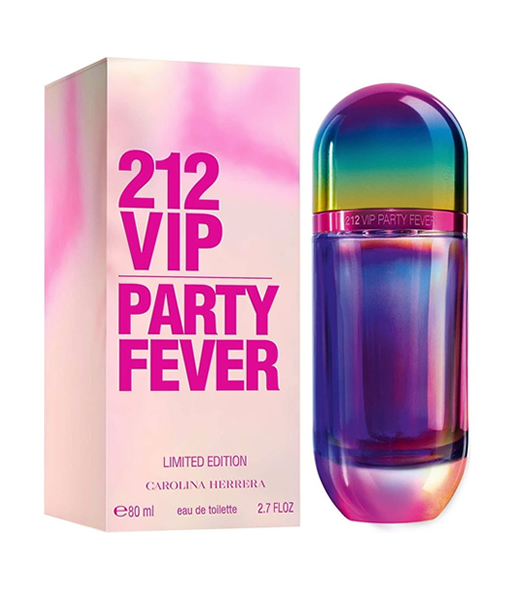 CAROLINA HERRERA 212 VIP PARTY FEVER LIMITED EDITION EDT FOR WOMEN