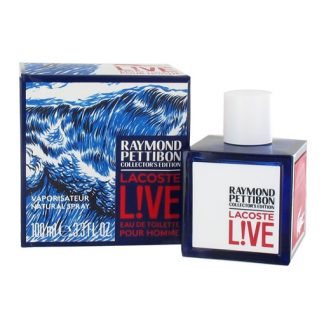 LACOSTE LIVE RAYMOND PETTIBON COLLECTOR'S EDITION EDT FOR MEN