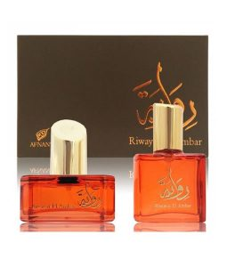AFNAN RIWAYAT EL AMBAR 2 PCS GIFT SET FOR WOMEN
