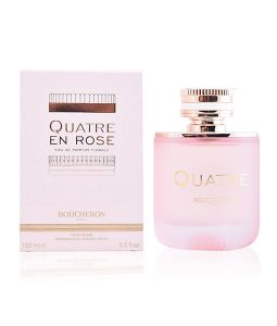 BOUCHERON QUATRE EN ROSE FLORALE EDP FOR WOMEN