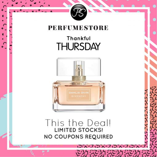 GIVENCHY DAHLIA DIVIN NUDE EDP FOR WOMEN 75ML TESTER [THANKFUL THURSDAY SPECIAL]