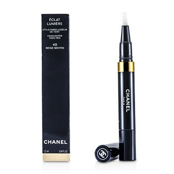 CHANEL ECLAT LUMIERE HIGHLIGHTER FACE PEN - # 40 BEIGE MOYEN  1.2ML/0.04OZ