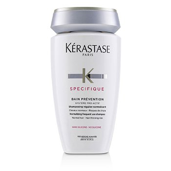 KERASTASE SPECIFIQUE BAIN PREVENTION NORMALIZING FREQUENT USE SHAMPOO (NORMAL HAIR)  250ML/8.5OZ