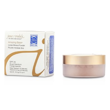 JANE IREDALE AMAZING BASE LOOSE MINERAL POWDER SPF 20 - RADIANT  10.5G/0.37OZ