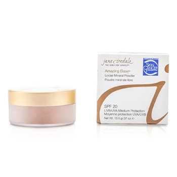 JANE IREDALE AMAZING BASE LOOSE MINERAL POWDER SPF 20 - SUNTAN  10.5G/0.37OZ