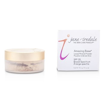JANE IREDALE AMAZING BASE LOOSE MINERAL POWDER SPF 20 - WARM SIENNA  10.5G/0.37OZ