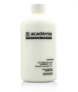 ACADEMIE 100% HYDRADERM PEELING CLEANSER 2 IN 1 (SALON SIZE)  500ML/16.9OZ