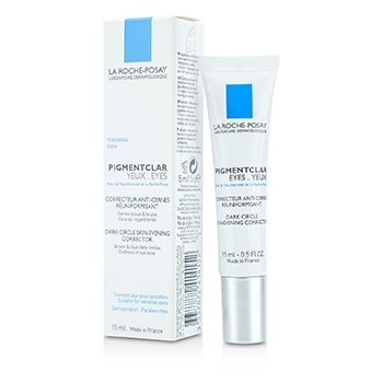 LA ROCHE POSAY PIGMENTCLAR EYES DARK CIRCLE SKIN-EVENING CORRECTOR - FOR SENSITIVE EYES  15ML/0.51OZ