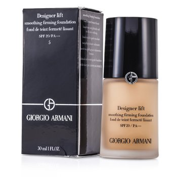 GIORGIO ARMANI DESIGNER LIFT SMOOTHING FIRMING FOUNDATION SPF20 - # 5  30ML/1OZ