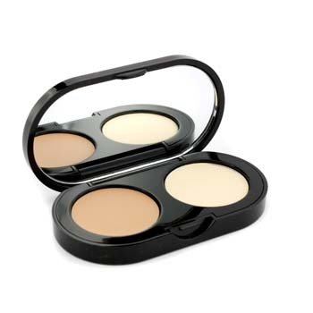 BOBBI BROWN NEW CREAMY CONCEALER KIT - WARM BEIGE CREAMY CONCEALER + PALE YELLOW SHEER FINISH PRESSED POWDER  3.1G/0.11OZ