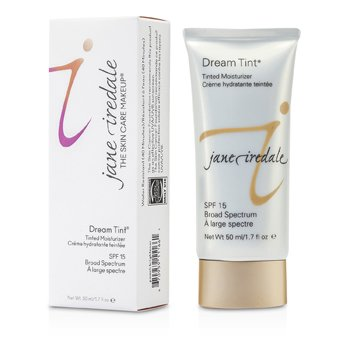 JANE IREDALE DREAM TINT TINTED MOISTURIZER SPF 15 - PEACH BRIGHTENER  50ML/1.7OZ