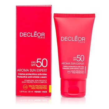 DECLEOR AROMA SUN EXPERT PROTECTIVE ANTI-WRINKLE CREAM HIGH PROTECTION SPF 50  50ML/1.69OZ