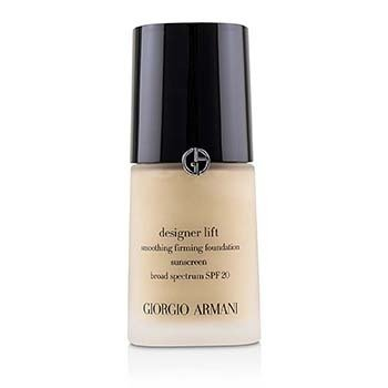 GIORGIO ARMANI DESIGNER LIFT SMOOTHING FIRMING FOUNDATION SPF20 - # 2  30ML/1OZ