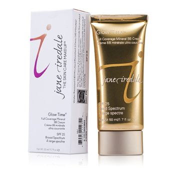 JANE IREDALE GLOW TIME FULL COVERAGE MINERAL BB CREAM SPF 25 - BB7  50ML/1.7OZ