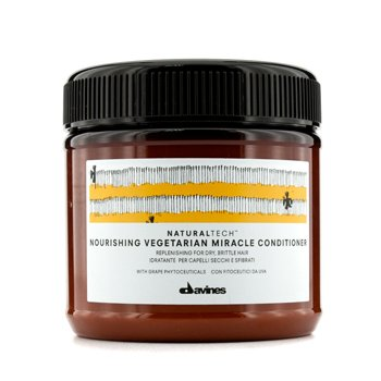 DAVINES NATURAL TECH NOURISHING VEGETARIAN MIRACLE CONDITIONER (FOR DRY, BRITTLE HAIR)  250ML/8.77OZ