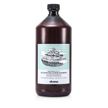 DAVINES NATURAL TECH DETOXIFYING SCRUB SHAMPOO (FOR ATONIC SCALP)  1000ML/33.8OZ