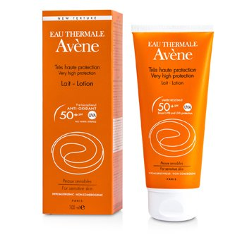 AVENE VERY HIGH PROTECTION LOTION SPF 50+ (FOR SENSITIVE SKIN)  100ML/3.4OZ