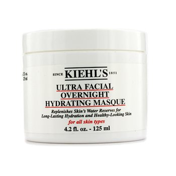 KIEHL'S ULTRA FACIAL OVERNIGHT HYDRATING MASQUE - FOR ALL SKIN TYPES  125ML/4.2OZ