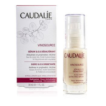 CAUDALIE VINOSOURCE S.O.S THIRST-QUENCHING SERUM  30ML/1OZ