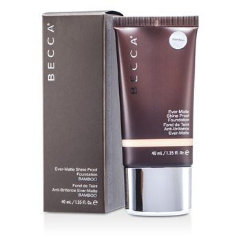 BECCA MATTE SKIN SHINE PROOF FOUNDATION - # BAMBOO  40ML/1.35OZ