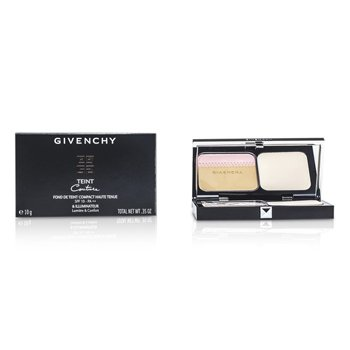 GIVENCHY TEINT COUTURE LONG WEAR COMPACT FOUNDATION & HIGHLIGHTER SPF10 - # 3 ELEGANT SAND  10G/0.35OZ