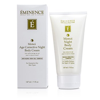 EMINENCE MONOI AGE CORRECTIVE NIGHT BODY CREAM - FOR NORMAL TO DRY SKIN  147ML/5OZ