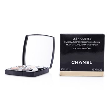 CHANEL LES 4 OMBRES QUADRA EYE SHADOW - NO. 204 TISSE VENDOME  2G/0.07OZ