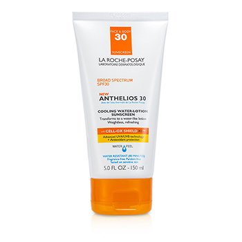 LA ROCHE POSAY ANTHELIOS 30 COOLING WATER-LOTION SUNSCREEN SPF 30  150ML/5OZ