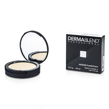 DERMABLEND INTENSE POWDER CAMO COMPACT FOUNDATION (MEDIUM BUILDABLE TO HIGH COVERAGE) - # IVORY  13.5G/0.48OZ