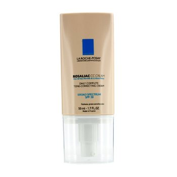 LA ROCHE POSAY ROSALIAC CC CREAM SPF 30 - DAILY COMPLETE TONE-CORRECTING CREAM  50ML/1.7OZ