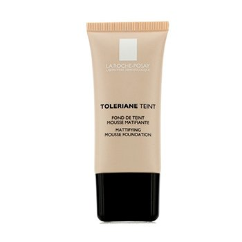 LA ROCHE POSAY TOLERIANE TEINT MATTIFYING MOUSSE FOUNDATION SPF 20 - 04 GOLDEN BEIGE  30ML/1OZ