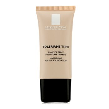 LA ROCHE POSAY TOLERIANE TEINT MATTIFYING MOUSSE FOUNDATION SPF 20 - 05 DARK BEIGE  30ML/1OZ