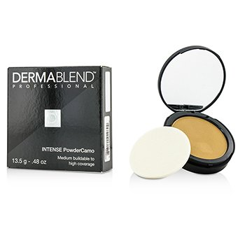 DERMABLEND IINTENSE POWDER CAMO COMPACT FOUNDATION (MEDIUM BUILDABLE TO HIGH COVERAGE) - # OLIVE  13.5G/0.48OZ