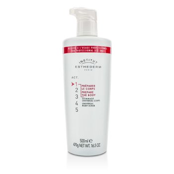ESTHEDERM UNIVERSAL BODY SCRUB (SALON SIZE)  500ML/16.5OZ