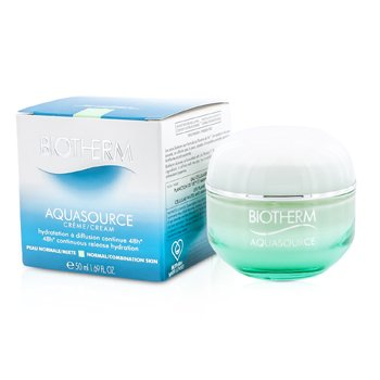 BIOTHERM AQUASOURCE 48H CONTINUOUS RELEASE HYDRATION CREAM - FOR NORMAL/ COMBINATION SKIN  50ML/1.69OZ