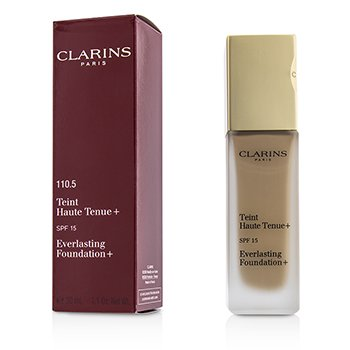 CLARINS EVERLASTING FOUNDATION+ SPF15 - # 110.5 ALMOND  30ML/1.2OZ