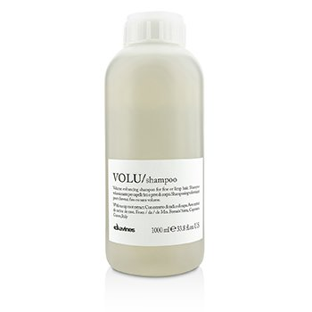 DAVINES VOLU VOLUME ENHANCING SHAMPOO (FOR FINE OR LIMP HAIR)  1000ML/33.8OZ